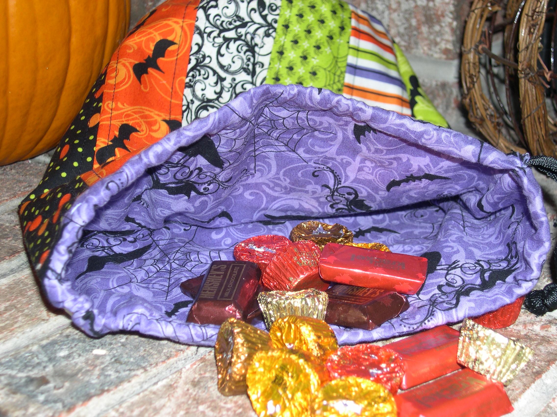 purple treat sack