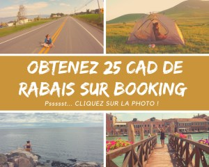 25 CAD de rabais booking