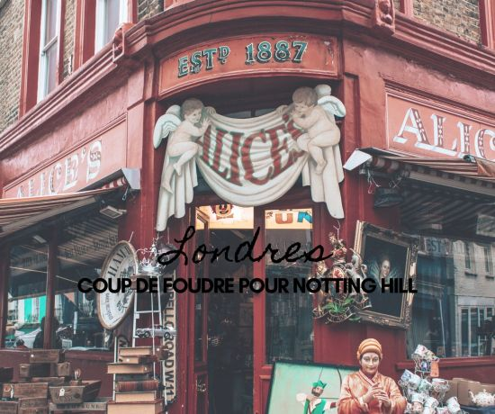 Londres visiter Notting Hill
