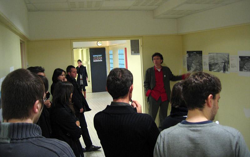 François Jégou présente les idées des élèves