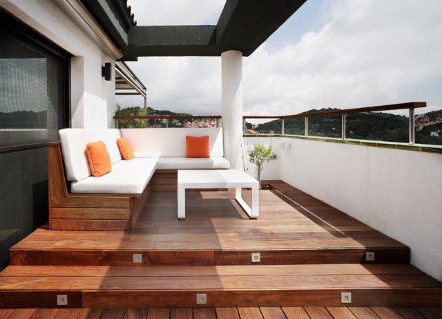 ático en barcelona.terraza