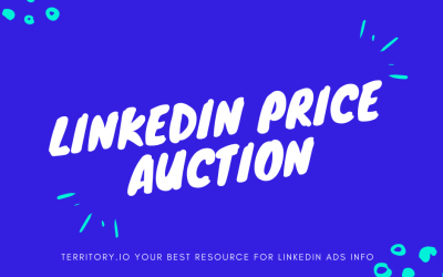 LinkedIn Advertising Costs – Auction Details (Video)