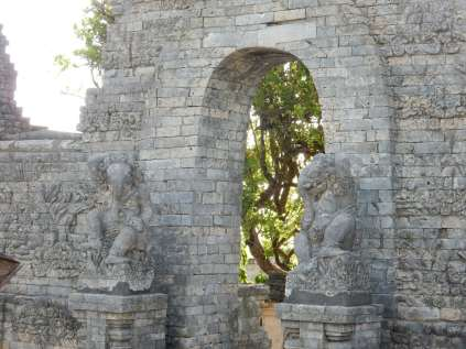 temple walls
