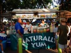 tropical street food