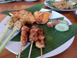Traditional Indonesian spices and flavours