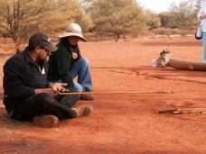 Bush culture Ayers Rock Uluru