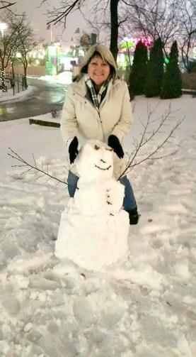 Snowman on my Bucket List