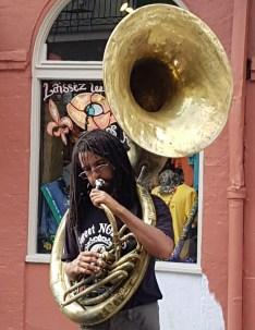 Tuba on the streets