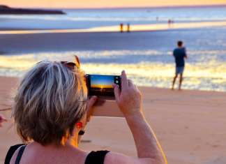 Northern Territory sunset