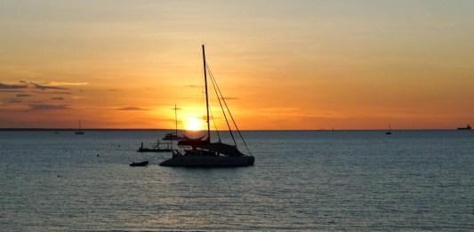 Staycation sunset magic