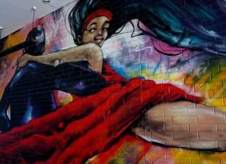 Street Art Restaurants Laneway