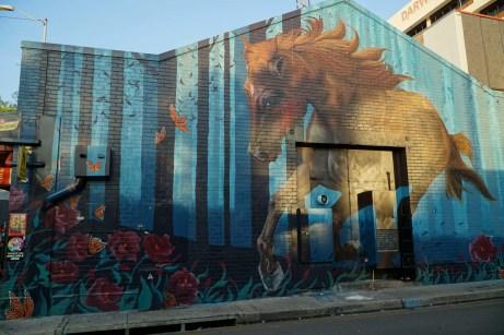 West Lane Street Art