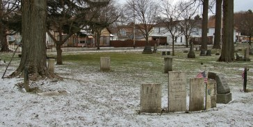 Erie Cemetery Witches Circle 1