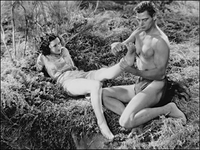 Image result for tarzan johnny weissmuller