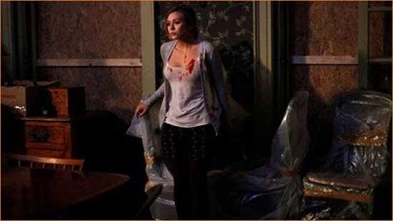 """Sarah (Elizabeth Olsen) seeks out the secrets of the """"Silent House""""."""