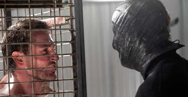 "Arkin (Josh Stewart) goes up against the new hidden face of evil in ""The Collection"""