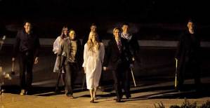 """The gang's all here for """"The Purge""""."""