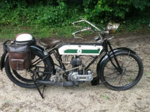 Triumph type H 550cc 1916