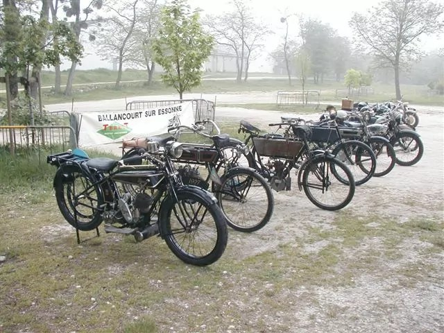 Ensemble des motos