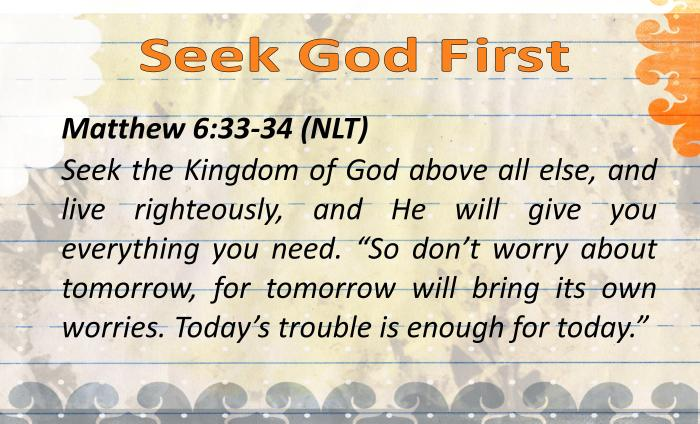 DBV - Seek God