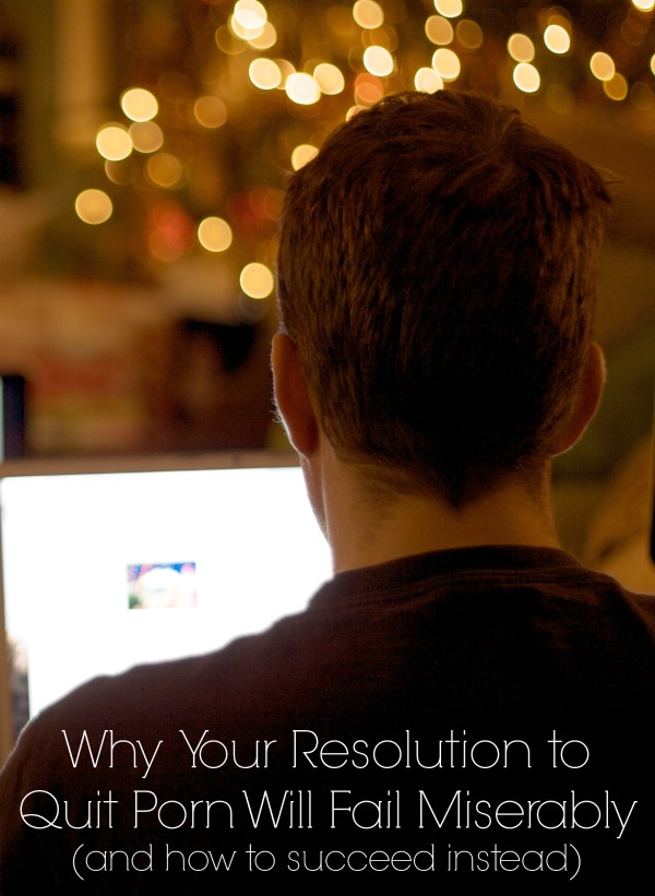 New Year's Resolution to Quit Porn