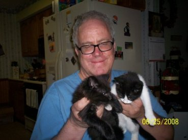 Al with kitties