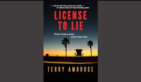 License to Lie a finalist in San Diego Book Awards