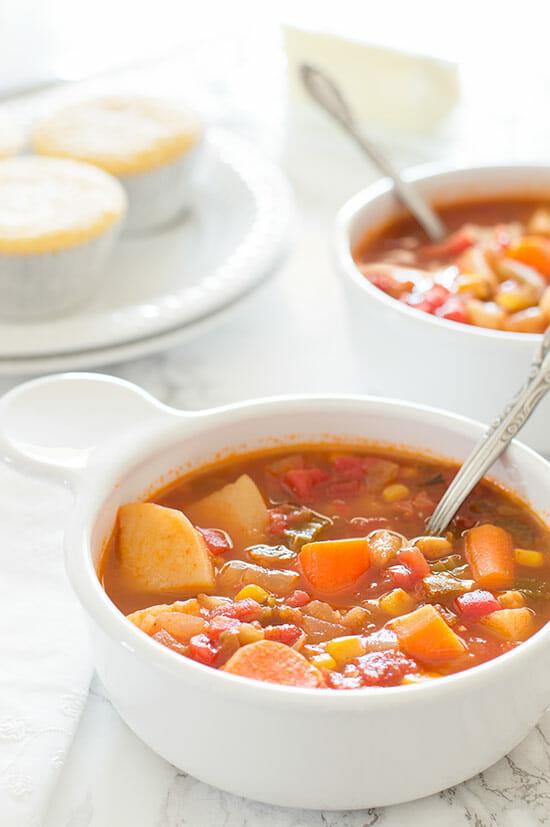 Mexican Vegan Vegetable Stew