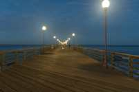 Oceanside Pier beckons at sunrise