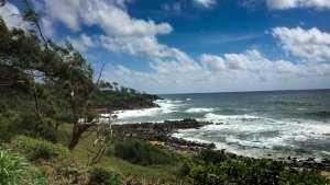 Coastal view from near the Pineapple Dump on Kauai