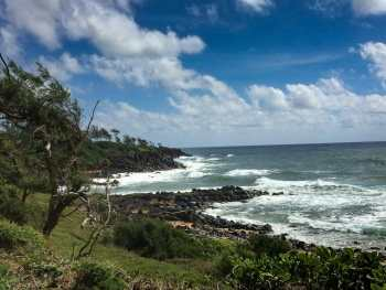Coastal view from near the Pineapple Dump on Kauai