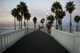 Approach to the Oceanside Pier