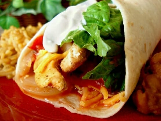 Crock Pot Chicken Fajitas can be made gluten-free