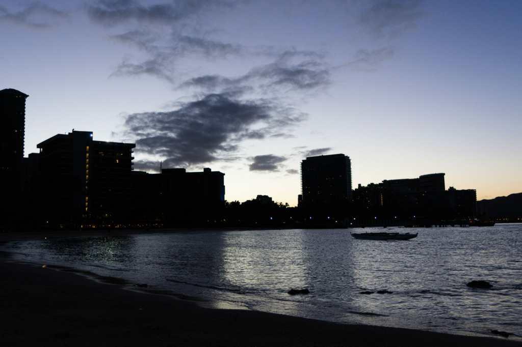 Waikiki at dawn