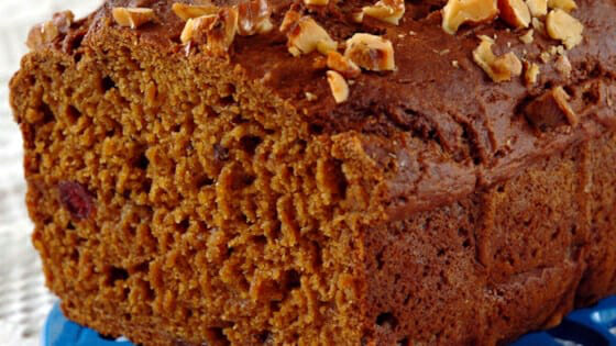 Cranberry Pumpkin Spice Bread