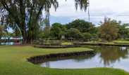Reflections at Liliuokalani Gardens 2