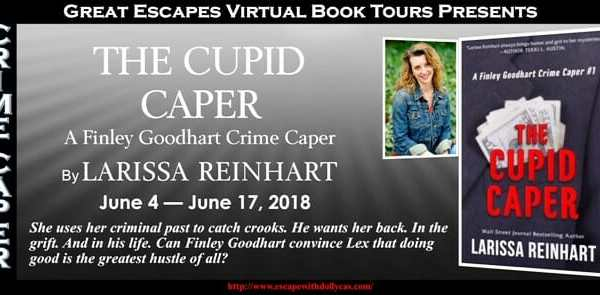 Behind the story of The Cupid Caper with Larissa Reinhart