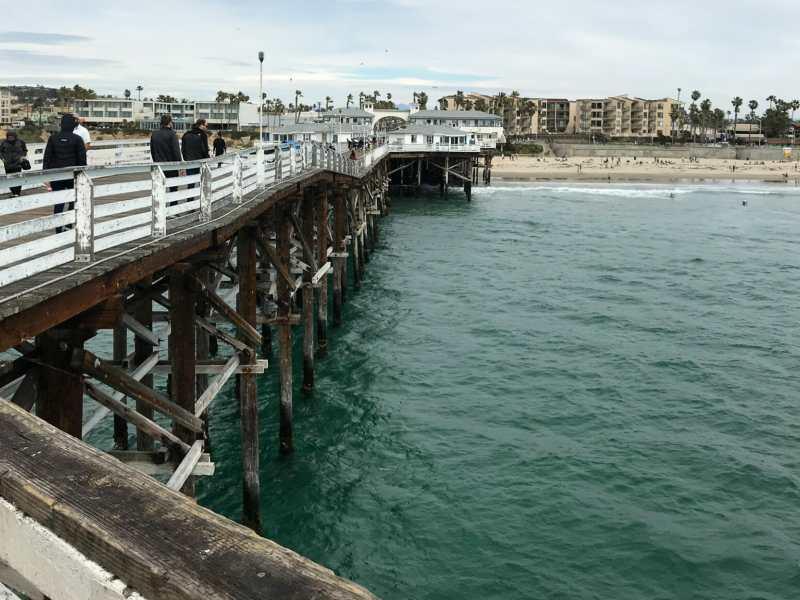 Looking back toward Pacific Beach