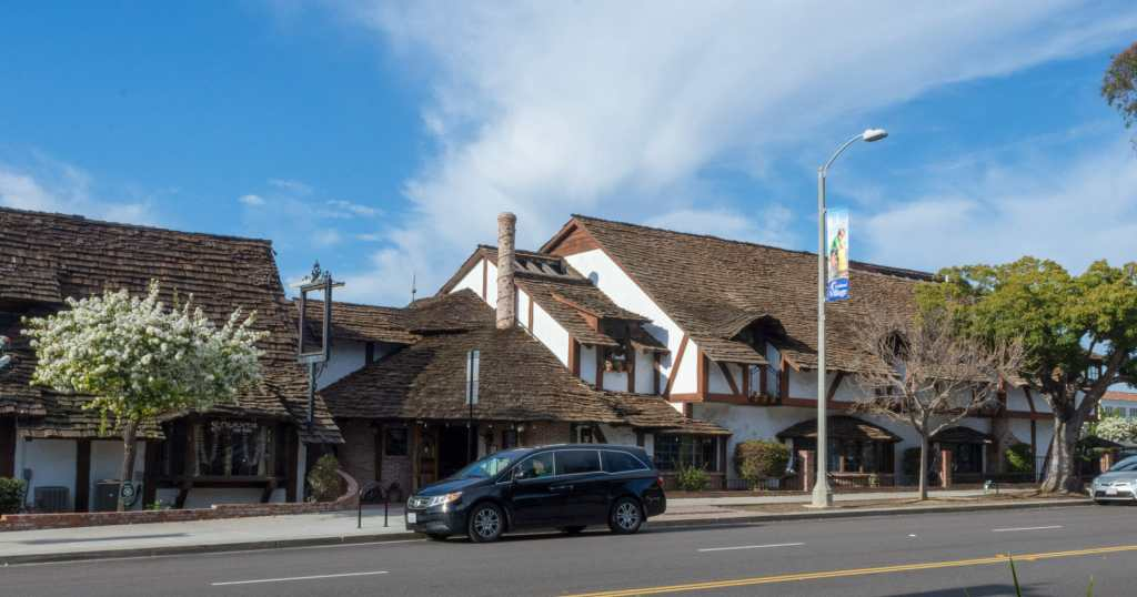 Old World architecture in Carlsbad