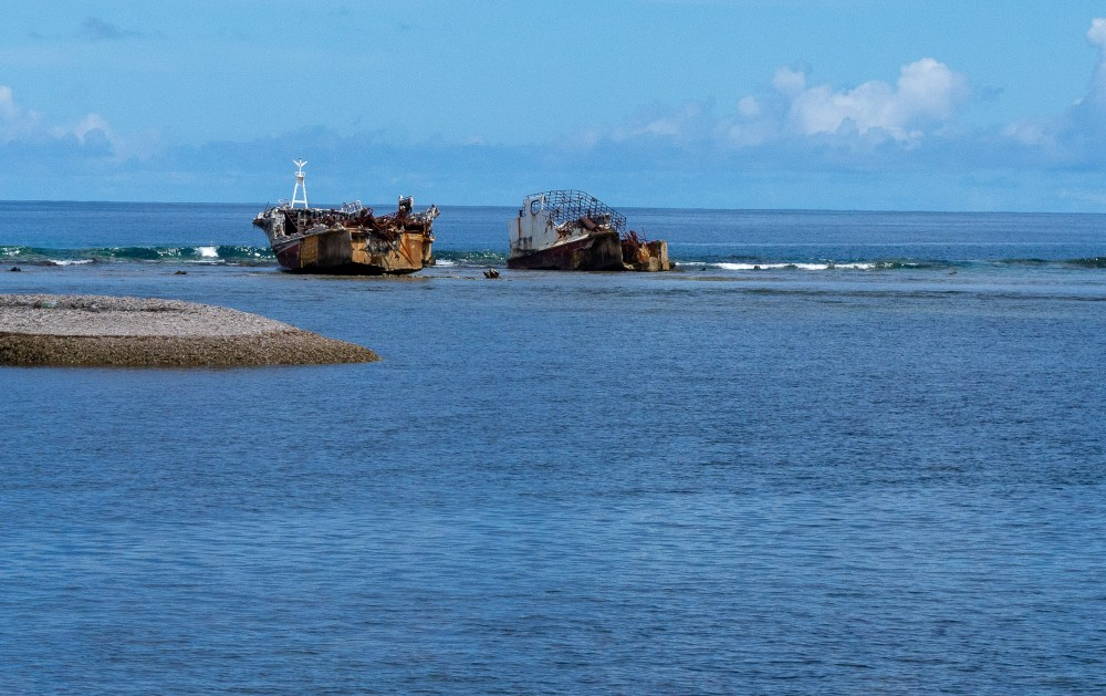 Shipwrecks off the coast