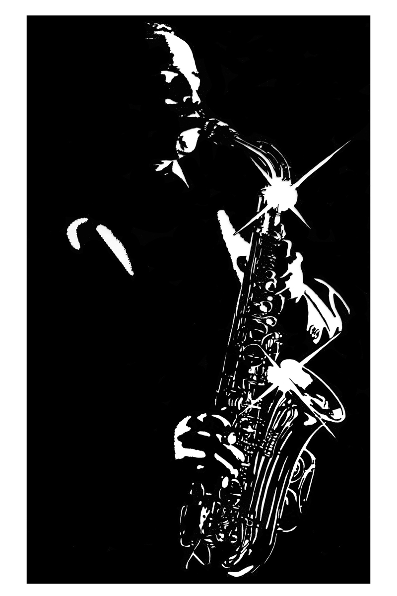 Charlie ParkerBlues Sax Player  TerryDoesArt