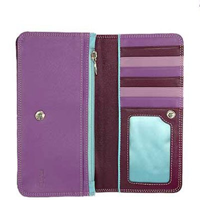 Purple Bifold Check Carrier