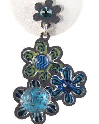 Yoolie Triple Flower Earrings