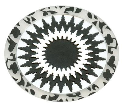 Soap Rest-Hammam Mosaic Black White