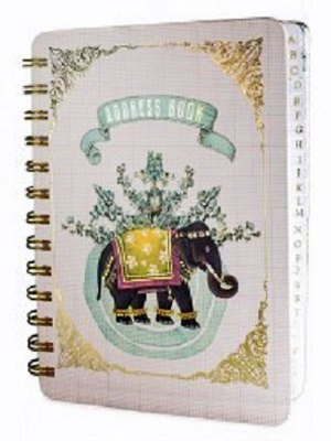 Happy Elephant Address Book