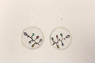 See-Through Circle Earrings