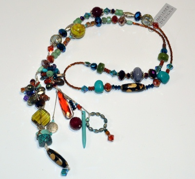 Simple Tie Mojave Necklace