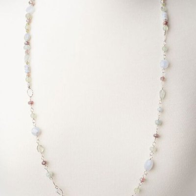 Morning Dew Collage Necklace