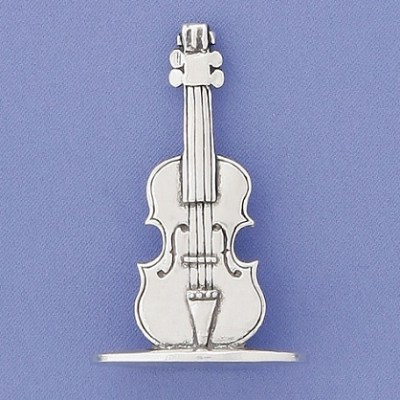 Pewter Ring Holder - Violin