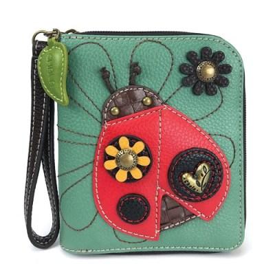 Ladybug Zip-Around Wallet - Chala